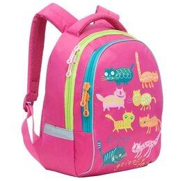 Сумки - Школьный рюкзак для девочки розовый детский, 0