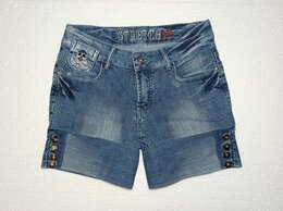 Шорты - Шорты джинсовые.  M 44-46., 0