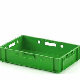 Прочее оборудование - Пластиковый Ящик для мяса Е1 (морозостойкий), 0