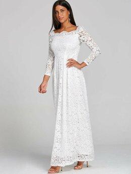 Платья - Новое Кружевное свадебное платье, 0