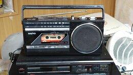 Музыкальные центры,  магнитофоны, магнитолы - Sanyo 1987 год ретро магнитола, 0