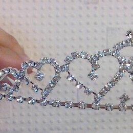 Украшения на тело - Диадема обод гребень свадебная для невесты новая, 0