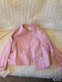 Куртки и пуховики -  Куртка на девочку ZARA кожанная, 0