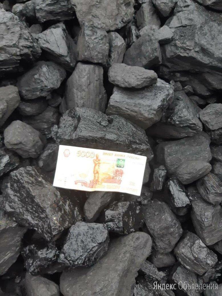 Уголь каменный ДПК для отопления дома по цене 7000₽ - Топливные материалы, фото 0