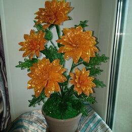 Рукоделие, поделки и сопутствующие товары - цветы из бисера, 0