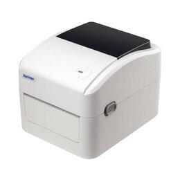 Принтеры чеков, этикеток, штрих-кодов - Принтер этикеток Xprinter XP-420B 20-110mm USB+LAN белый, 0