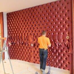 Декоративные фонтаны и панели - Мягкие стеновые панели из кожи или тканей, 0