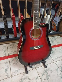 Акустические и классические гитары - Гитара акустическая дредноут, 0