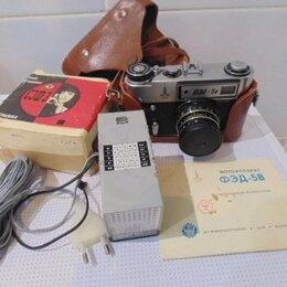 Пленочные фотоаппараты - Фотоаппарат ФЭД - 5В. в рабочем состоянии.руководство-, 0