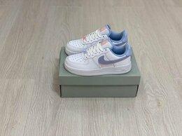 Кроссовки и кеды - Кроссовки Nike Air Force 1 Blue , 0