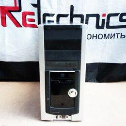 Настольные компьютеры - ПК 775 E5200 2x1Gb DDR2 160IDE G33 300W ATX black , 0