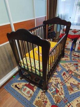 Кроватки - Детская кровать деревянная, 0