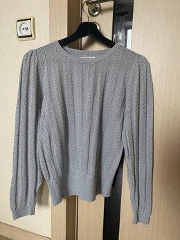 Блузки и кофточки - Серебристый свитер с блестящей нитью reserved р.46, 0