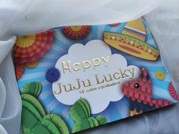 Для глаз - Палитра глиттеров Happy JuJu Lucky 54 цвета , 0