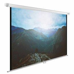 Экраны - Экран настенно-потолочный Cactus WallExpert CS-PSWE-240X240-WT, 0