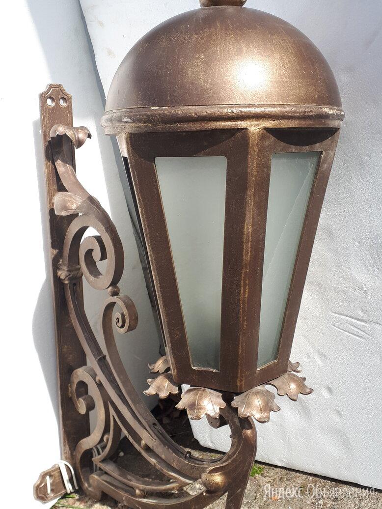 Фонарь уличный, кованый, бронза. по цене 15000₽ - Уличное освещение, фото 0