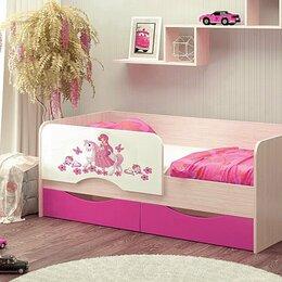 """Кровати - Детская кровать МДФ """"Принцесса"""" 1600*800 мм, 0"""