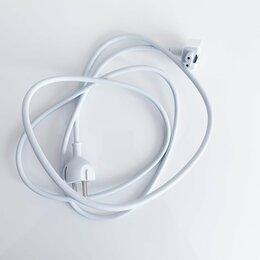 Аксессуары и запчасти для ноутбуков - Новый сетевой кабель Apple оригинал MacBook, 0