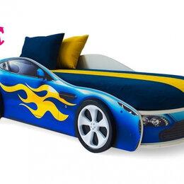 Кроватки - Кровать-машина Бондмобиль, синий, 0