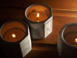 Подсвечники - Подсвечники из бетона, 0