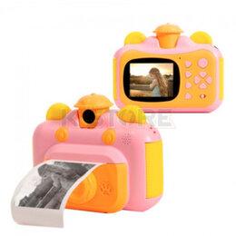 Фотоаппараты - Детская камера с мгновенной печатью фотографий…, 0
