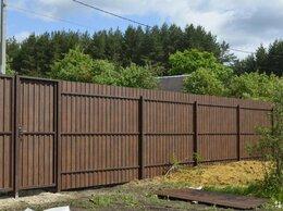 Архитектура, строительство и ремонт - Забор из профнастила, 0