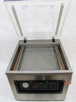 Упаковочное оборудование - Вакуумный упаковщик DZ-400/2F (настольный), 0