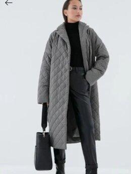 Пальто - Стеганное пальто на поясе, 0