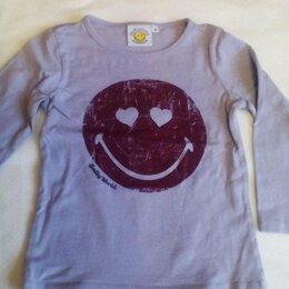 Футболки и майки - Лонгслив футболка 3-4 г. Smiley World Association, 0