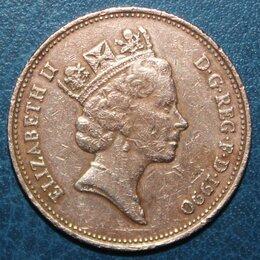 Монеты - 2 пенса Великобритания 1990, 0