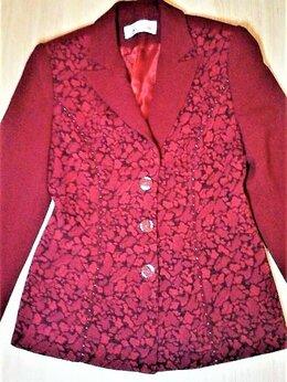 Пиджаки - Пиджак из качественной костюмной ткани, р.44, 0
