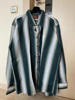 Рубашки - Рубашка мужская c длинным рукавом р. 56-58, 0