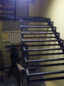 Лестницы и элементы лестниц - Лестница на металлокаркасе под ключ, 0