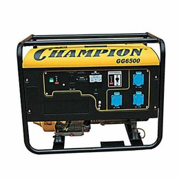 Электрогенераторы - Электростанция CHAMPION GG 6500, 0