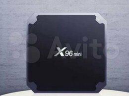 ТВ-приставки и медиаплееры - Smart TV приставка X96 mini, 0
