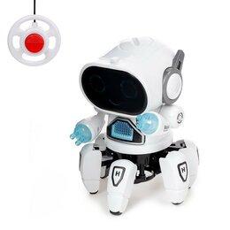 Роботы и трансформеры - Робот «Осьминожек» р/у, работает от бат., 0