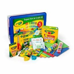 Канцелярские принадлежности - Набор для творчества Crayola Super Art & Craft Kit, 0