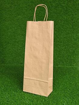 Пакеты - Крафт Пакеты (Винные 39,5Х15Х8 см), 0