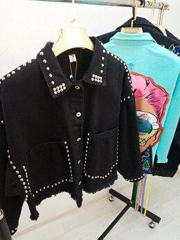Куртки - Джинсовка женская Арт.DK.1005.W. Черный., 0