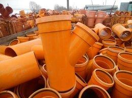 Водопроводные трубы и фитинги - Тройник ПВХ 45°/200x160 мм , 0