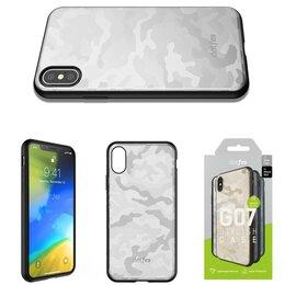 Чехлы - Чехол Apple iPhone X/Xs DOTFES G07 Camouflage…, 0