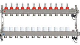 Коллекторы - Коллектор для теплого пола на 12 выходов Taen (с…, 0