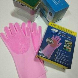Мыльницы, стаканы и дозаторы - Дозатор-диспенсер моющего средства кухонный 2 в 1 + Перчатки для мытья в Подарок, 0