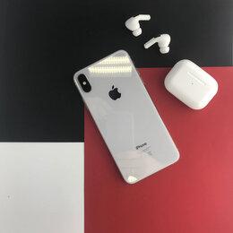 Мобильные телефоны - iPhone XS Max Silver 256gb бу Ростест, 0