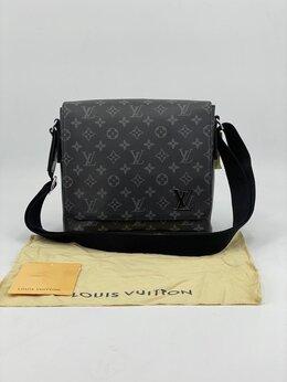 Сумки - Новая мужская кожаная сумка Louis Vuitton на…, 0
