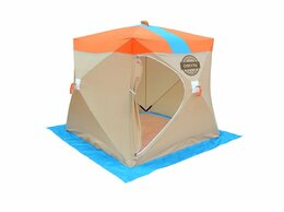 Палатки - Омуль Куб 2 палатка для зимней рыбалки, 0