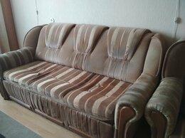 Диваны и кушетки - комплект б/у диван и 2 кресла, 0
