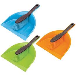 Веники, совки, щетки для пола - Совок для мусора York с щеткой-сметкой, низкая…, 0