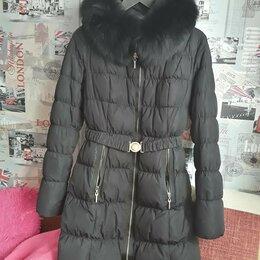 Пуховики - Пальто на пуху р.40, 0