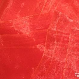 Рукоделие, поделки и сопутствующие товары - Органза ярко красная Советская, 0